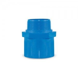 Male Adapter Blue