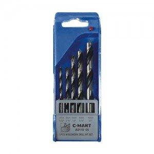C-Mart-A0118-05-Masonry-Drill-Bit-Set