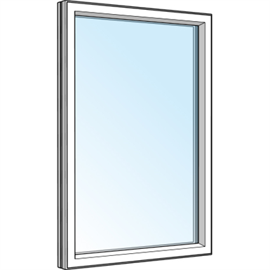 fixed window - house materials